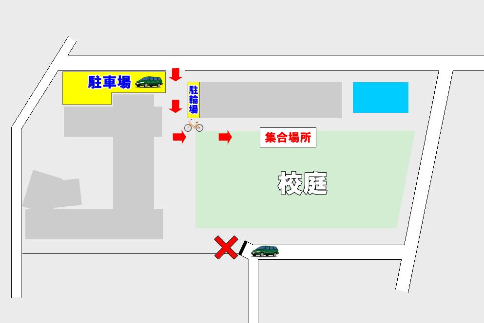 蕨北小マップ